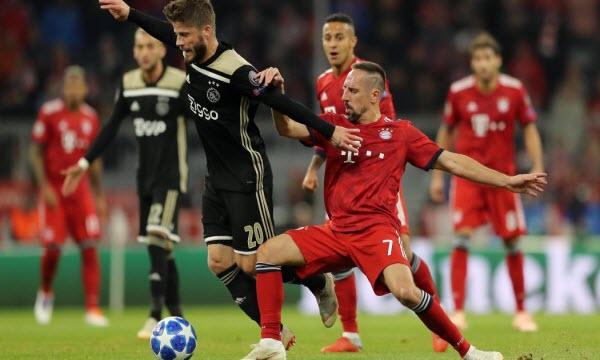 Bóng đá - Ajax Amsterdam vs Bayern Munich 03h00 ngày 13/12
