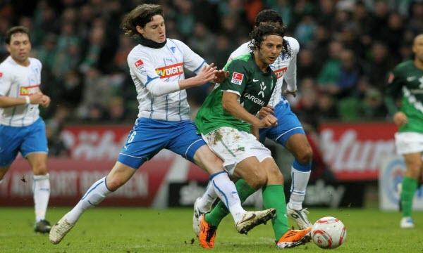 Bóng đá - Werder Bremen vs Hoffenheim 21h30, ngày 13/02