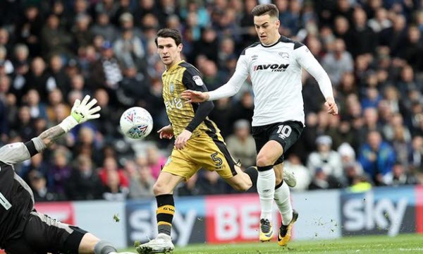 Bóng đá - Derby County vs Sheffield Wed. 12/12/2019 02h45