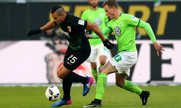 Bóng đá - Augsburg vs Wolfsburg 21h30 ngày 23/12