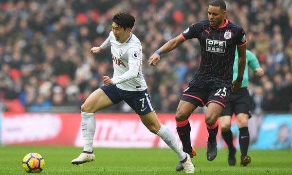 Bóng đá - Tottenham Hotspur vs Huddersfield Town 18h30 ngày 13/04