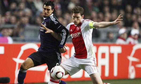 Bóng đá - Ajax Amsterdam vs Anderlecht  00h30, ngày 14/07