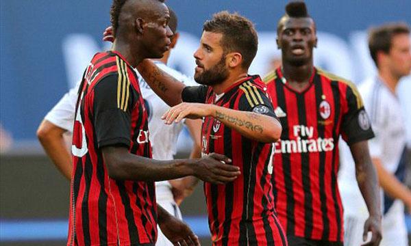 L.A. Galaxy 0-2 AC Milan (Highlights giao hữu quốc tế Champions Cup 2013)