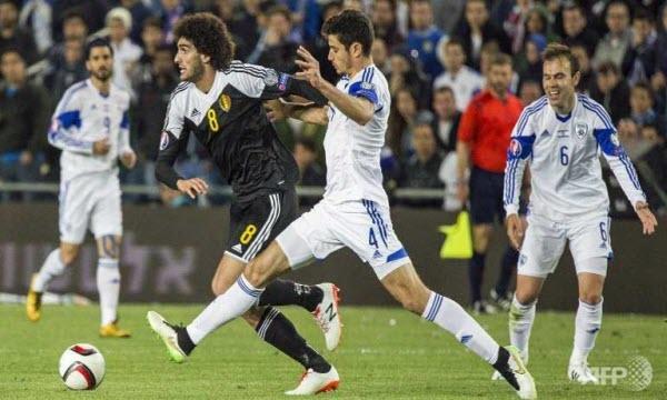 Bóng đá - Bỉ vs Israel 01h45, ngày 14/10