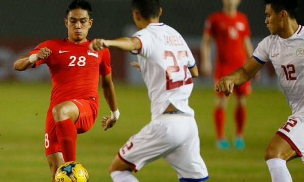 Bóng đá - Philippines vs Singapore 19h00 ngày 13/11