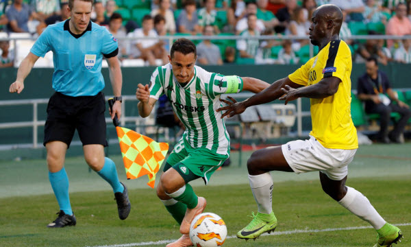Bóng đá - F91 Dudelange vs Real Betis 03h00 ngày 14/12