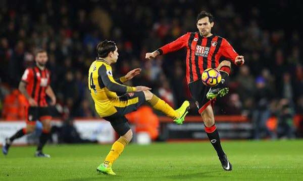 Bóng đá - AFC Bournemouth vs Arsenal 20h30, ngày 14/01