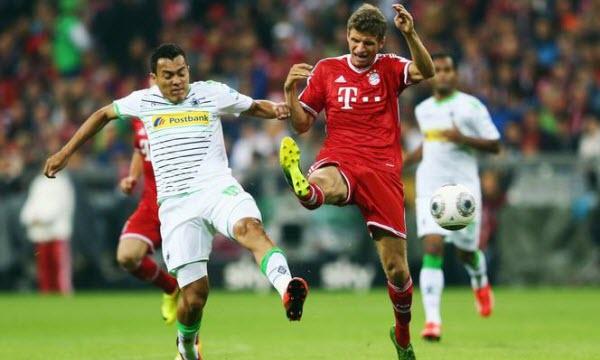 Bóng đá - Bayern Munich vs Monchengladbach 23h30, ngày 14/04