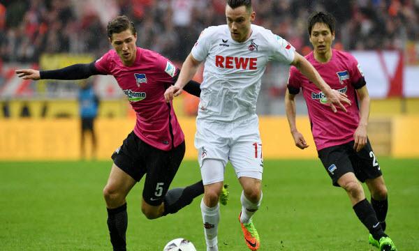 Bóng đá - Hertha Berlin vs Koln 20h30, ngày 14/04