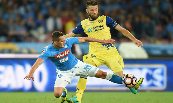 Bóng đá - Chievo vs Napoli 23h00 ngày 14/04