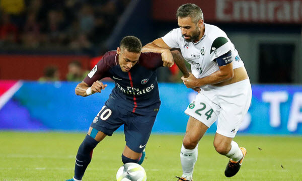 Bóng đá - Saint-Etienne vs Paris Saint Germain 18/02/2019 03h00