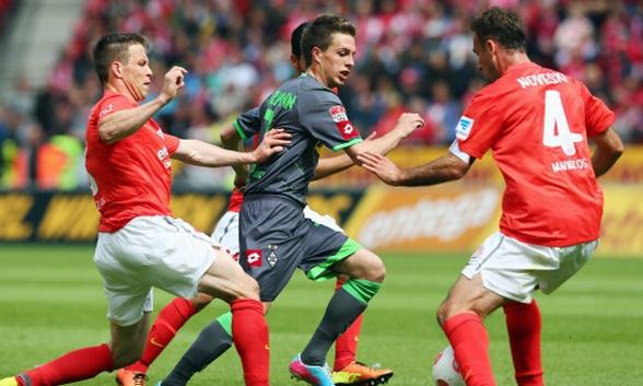 Bóng đá - Mainz 05 vs Monchengladbach: 21h30, ngày 14/12