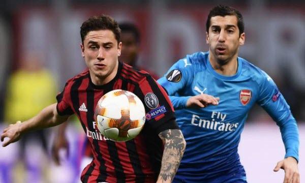 Bóng đá - Arsenal vs AC Milan 03h05, ngày 16/03