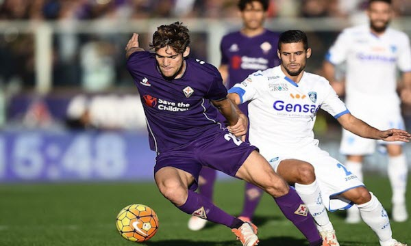 Bóng đá - Fiorentina vs Empoli 21h00 ngày 16/12