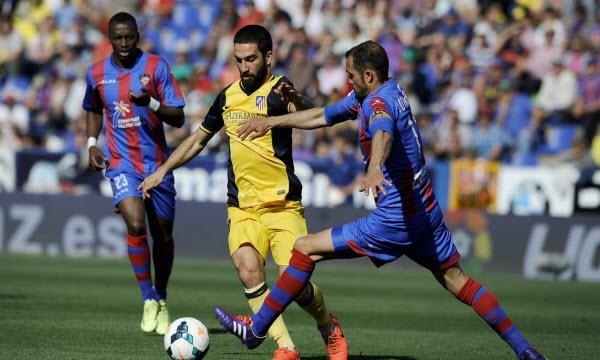 Bóng đá - Atletico Madrid vs Levante 21h15, ngày 15/04