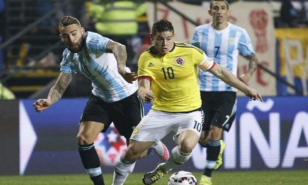 Nhận định dự đoán Colombia vs Argentina 8h ngày 7/7