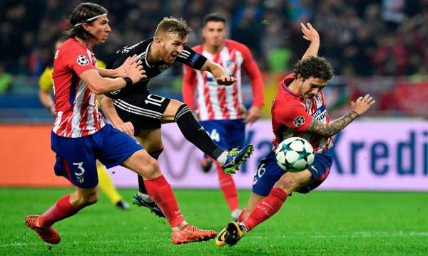 Bóng đá - Atletico Madrid vs Eibar 18h00, ngày 15/09