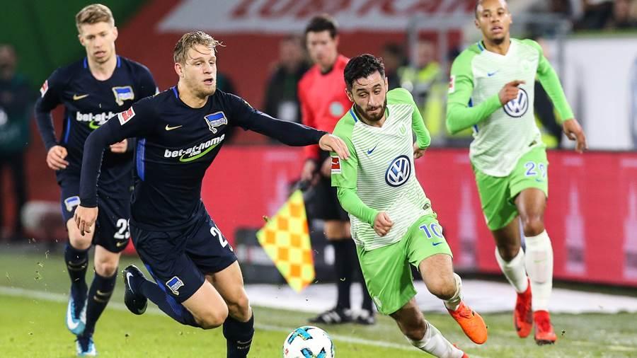 Bóng đá - Hertha Berlin vs Wolfsburg 21h30 ngày 02/02