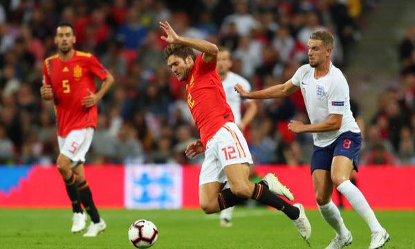 Bóng đá - Tây Ban Nha vs Anh 01h45 ngày 16/10
