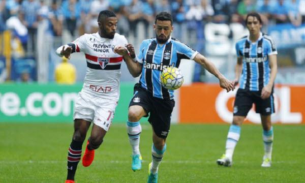 Bóng đá - Sao Paulo vs Gremio (RS) 21h00 ngày 31/08