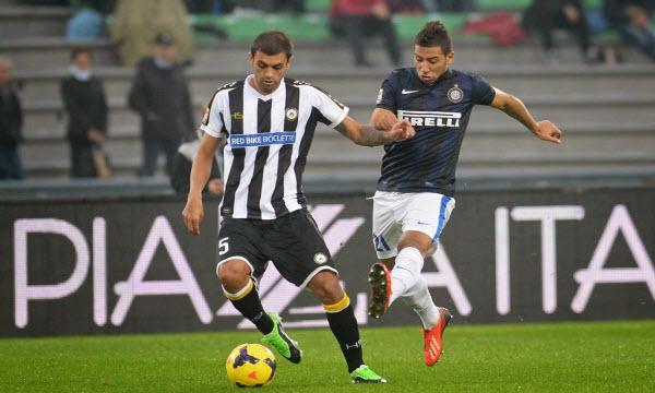 Bóng đá - Inter Milan vs Udinese 00h00 ngày 16/12