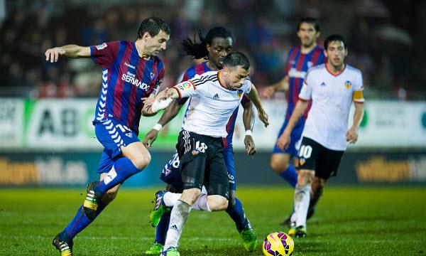Bóng đá - Eibar vs Valencia 02h45 ngày 16/12