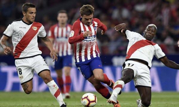 Bóng đá - Rayo Vallecano vs Atletico Madrid 22h15 ngày 16/02