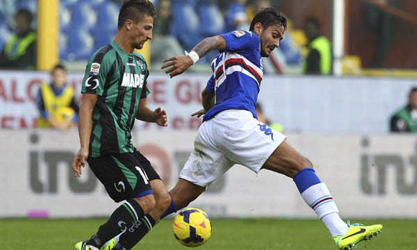 Bóng đá - US Sassuolo Calcio vs Sampdoria 02/09/2019 01h45