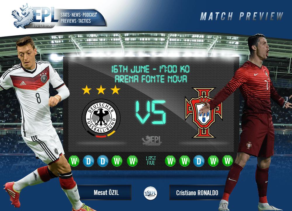 Bóng đá - Đức vs Bồ Đào Nha 23h ngày 19/6