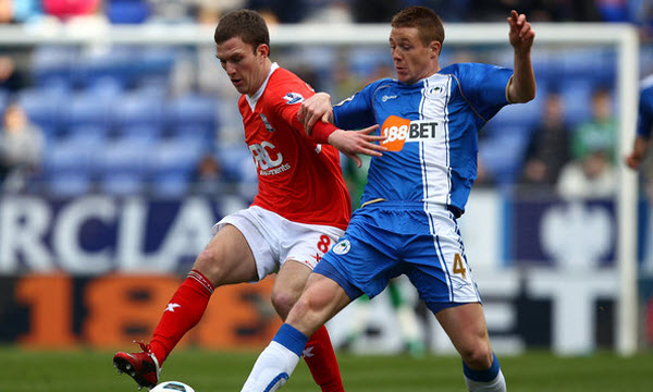 Bóng đá - Wigan Athletic vs Birmingham 22h00 ngày 22/12