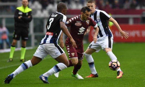 Bóng đá - Udinese vs Torino 20h00, ngày 16/09