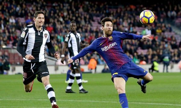 Bóng đá - Barcelona vs Levante 28/04/2019 01h45