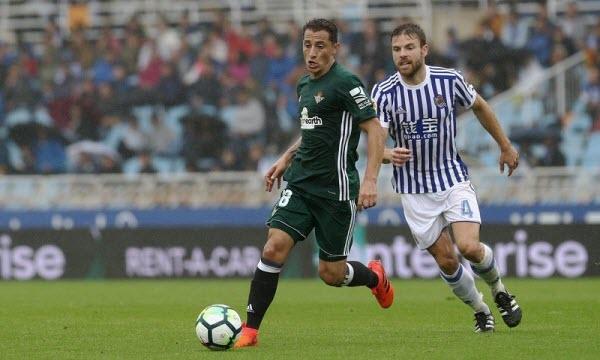 Bóng đá - Real Sociedad vs Real Betis 01h30 ngày 18/01