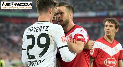 Bóng đá - Fortuna Dusseldorf vs Bayer Leverkusen 20h30 ngày 24/08