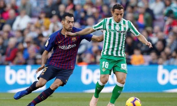 Bóng đá - Real Betis vs Alaves 2h ngày 17/7