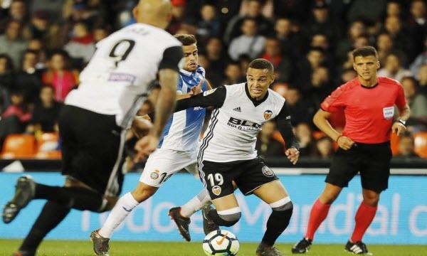 Bóng đá - Valencia vs Espanyol 2h ngày 17/7