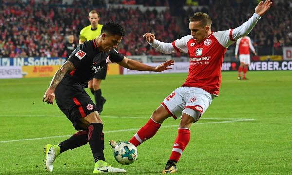 Bóng đá - Eintr. Frankfurt vs Mainz 05 21h30, ngày 17/03