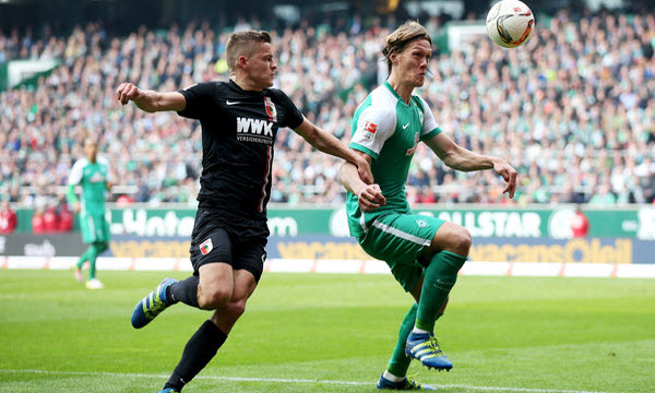 Bóng đá - Augsburg vs Werder Bremen 21h30, ngày 17/03