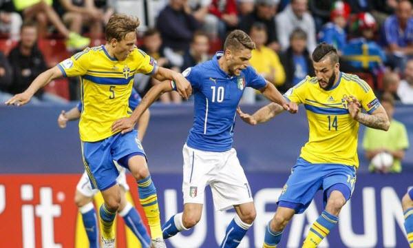 Bóng đá - Italy vs Thụy Điển 20h00, ngày 17/06