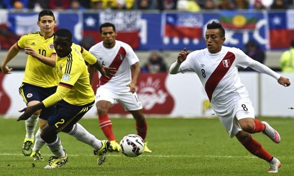 Phân tích Peru vs Colombia 9h ngày 4/6