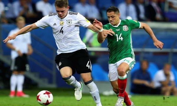 Bóng đá - Đức vs Mexico 22h00, ngày 17/06