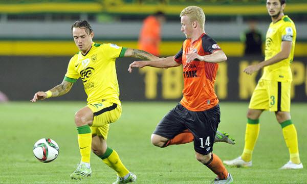 Bóng đá - FK Anzhi vs Gazovik Orenburg 23h30, ngày 17/08