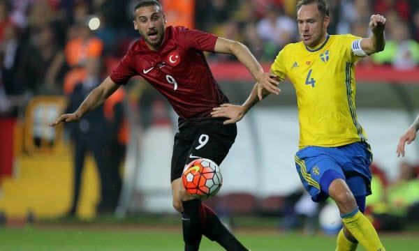 Bóng đá - Thổ Nhĩ Kỳ vs Thụy Điển 00h00 ngày 18/11