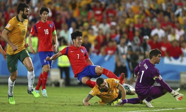 Bóng đá - Hàn Quốc vs Australia 18h00 ngày 07/06