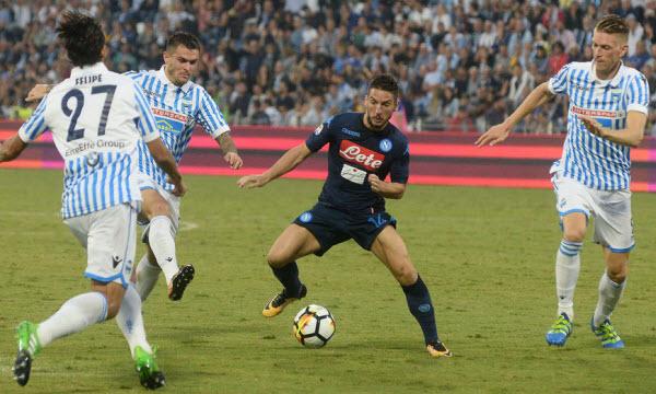 Bóng đá - Napoli vs Spal 21h00, ngày 18/02