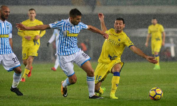 Bóng đá - Spal vs Chievo 01h45, ngày 19/04