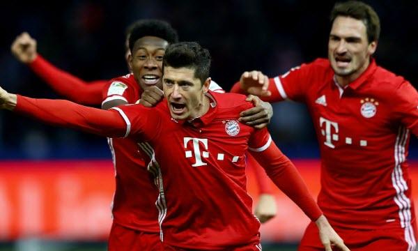 Bóng đá - Bayern Munich vs Eintr Frankfurt 20h30 ngày 24/10