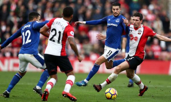 Bóng đá - Southampton vs Everton 19/01/2019 22h00