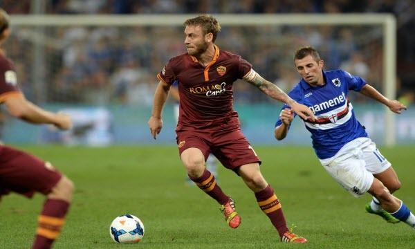 Bóng đá - AS Roma vs Sampdoria 03h00, ngày 20/01