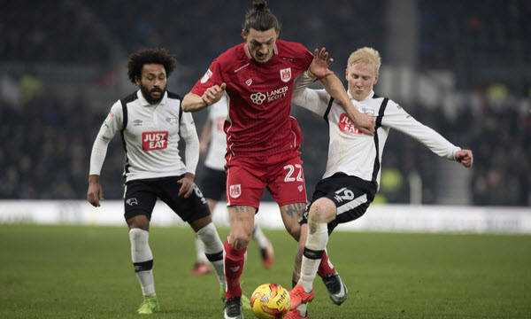 Bóng đá - Bristol City vs Derby County 27/04/2019 21h00